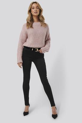Trendyol High Waist Skinny Jeans Black