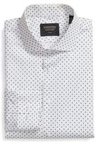 Nordstrom Trim Fit Dot Dress Shirt
