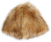 Hat Attack WOMEN'S FAUX-FUR HAT-TAN
