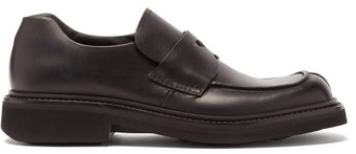 Prada Chunky-sole Leather Loafers - Black