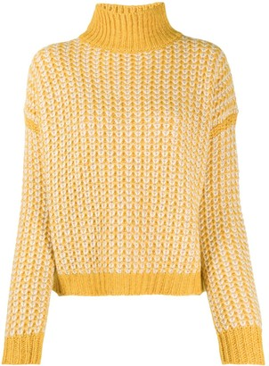 HUGO BOSS Chunky-Knit Rib-Trimmed Jumper