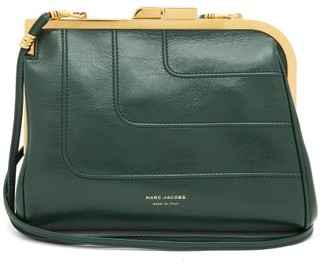 MARC JACOBS, RUNWAY Marc Jacobs Runway - Frame Large Pinched-leather Cross-body Bag - Dark Green
