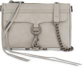 Rebecca Minkoff Mini M.A.C. distressed leather cross-body bag