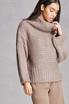 Forever 21 FOREVER 21+ Ribbed Turtleneck Sweater