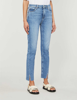 Paige Hoxton slim-fit tapered mid-rise jeans