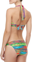 Nanette Lepore Sinaloa Striped Beaded Swim Bottom