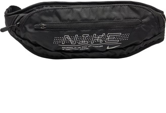 Nike Large Graphic Capacity Waistpack 2.0 Black/Black/Silver