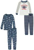 """Carter's Little Boys' Toddler """"Half-Pint Football"""" 4-Piece Pajamas"""