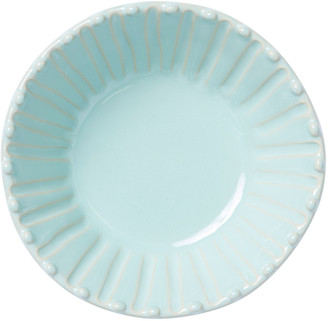 Vietri Incanto Stone Stripe Cereal Bowl, Aqua