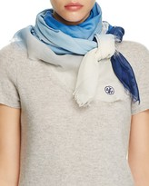 Tory Burch Ombre Oversized Square Scarf