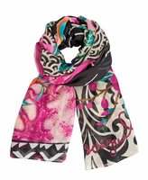 Desigual Women's Rectangle Tanika Scarf