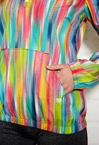 Forever 21 Active Neon Pop Half-Zip Track Jacket