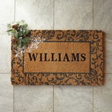 Holiday Scroll Doormat