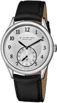 Stuhrling Original Prestige Men's 171B3.33152 Prestige Swiss Made Adamant Automatic Date Silver Tone Watch