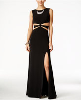 City Studios Juniors' Cutout Gown