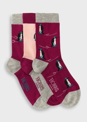 Hobbs Penguin Sock Set