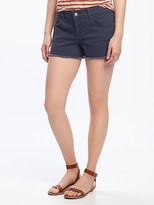 "Old Navy Cut-Off Denim Shorts for Women (3"")"