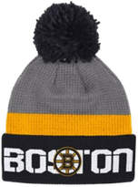 Reebok Boston Bruins Cuffed Pom-Pom Knit Tuque