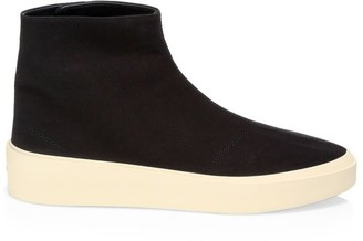 Fear Of God Sixth Colleciton Tear Away Moc Snap Sneakers