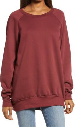 Treasure & Bond Crewneck Tunic Sweatshirt