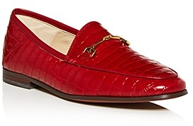 Sam Edelman Women's Loraine Croc-Embossed Apron-Toe Loafers - 100% Exclusive