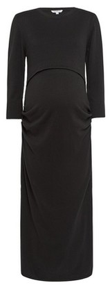 Dorothy Perkins Womens **Maternity Black Nursing Jumper Dress, Black
