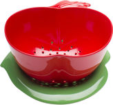 Zak Designs GardenSeries 32-oz. Apple Colander & Bowl