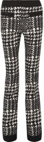 Moncler Houndstooth Twill Ski Pants - Black