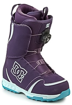 DC LOTUS 2010 women's Snow boots in Purple