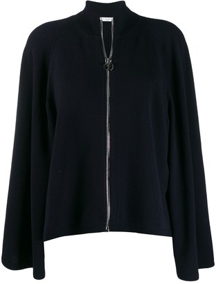 Givenchy Wide Sleeve Zipped Cardigan