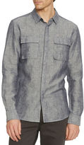 Kenneth Cole New York Slim-Fit Modern Utility Shirt