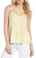 Cupcakes And Cashmere Women's Emmanuel Stripe Tank