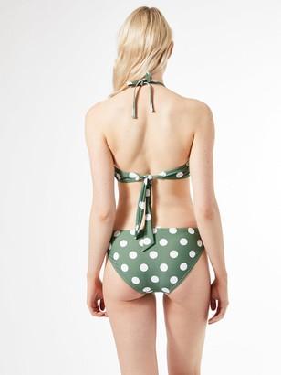 Dorothy Perkins Spot Midrise Bikini Briefs - Khaki