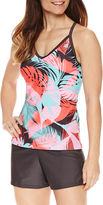 ZeroXposur Tropical Palm Tankini