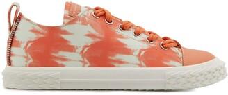 Giuseppe Zanotti Low Top Tie-Dye Sneakers