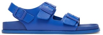Birkenstock 1774 - Milano Ankle-strap Leather Sandals - Womens - Blue