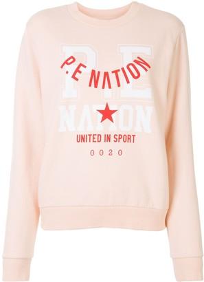 P.E Nation Logo Stamp Sweatshirt