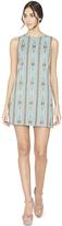 Alice + Olivia Clyde Embellished Shift Dress