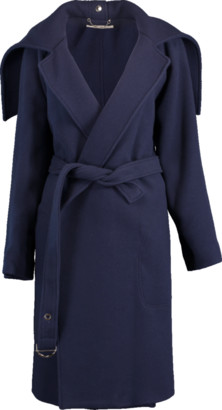 Chloé Belted Wool Wrap Coat