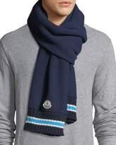 Moncler Sciarpa Wool Knit Scarf