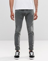 Replay Anbass Slim Jeans In Bottle Green