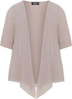 Via Appia Plus Size Rhinestone embellished jacket
