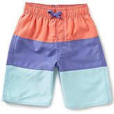 Class Club Big Boys 8-20 Striped Swim Trunks