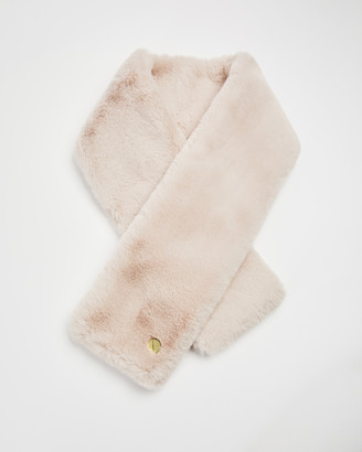Ted Baker ATHENAA Faux fur wrap scarf