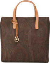 Etro paisley print tote bag - women - Leather - One Size