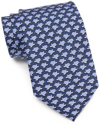 Tommy Hilfiger Small Turtles Cotton Tie