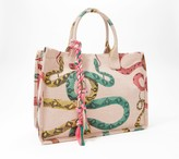 Vince Camuto Printed Canvas Tote - Orla