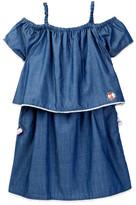 Andy & Evan Denim Off-The-Shoulder Dress (Toddler & Little Girls)