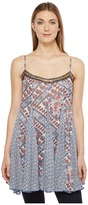 Brigitte Bailey Dena Spaghetti Strap Top with Beading Women's Clothing