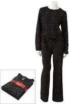 Croft & barrow ® pajamas: textured knit pajama set - women's